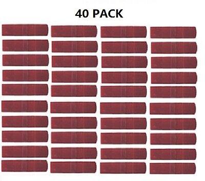 EX-180R, 646 10 LOT Posi-Lock PL-1824M MINI red splice connector 20-26 Awg