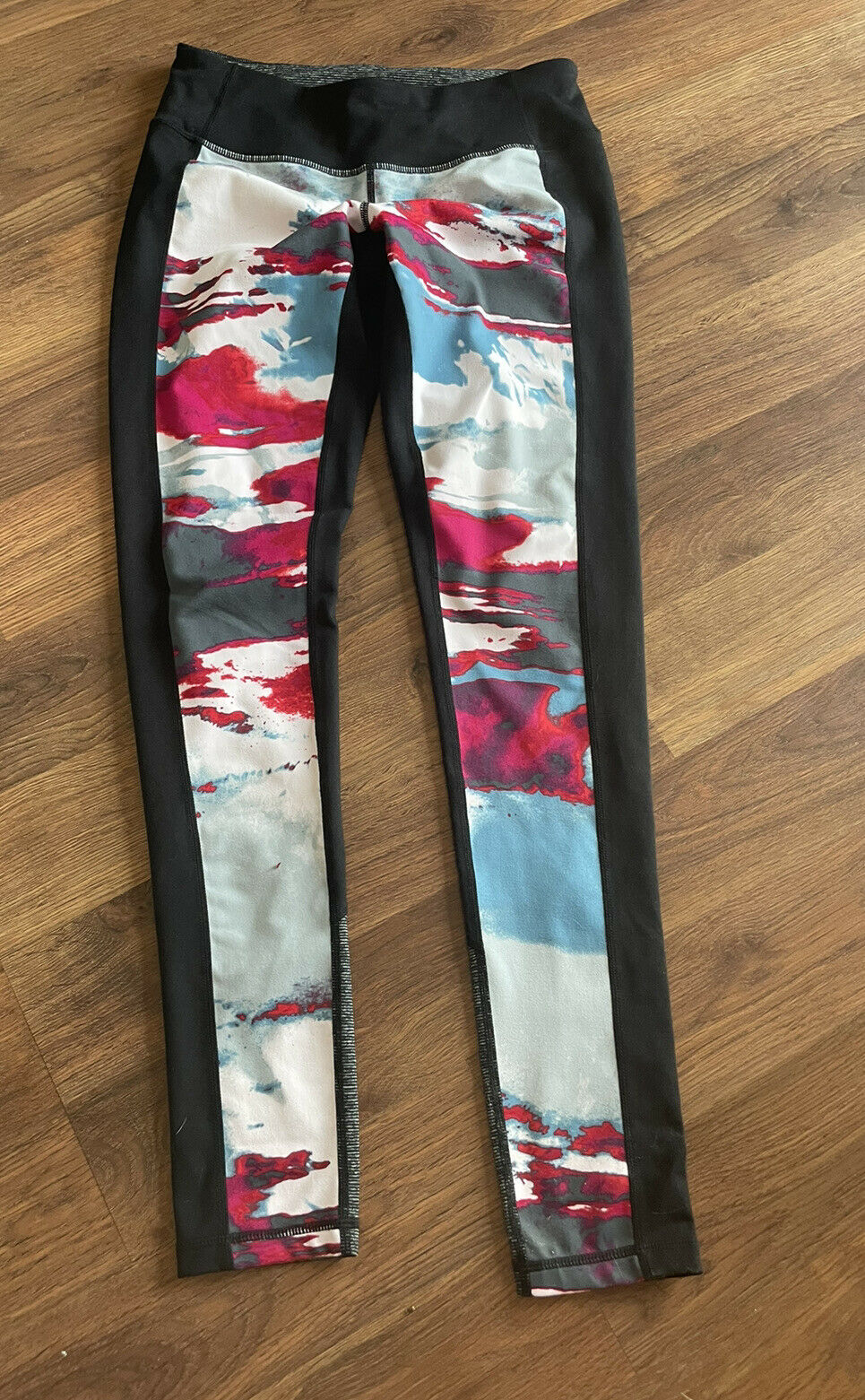 Zella Leggings Womens Size Small S Colorful Pants Athletic Workout