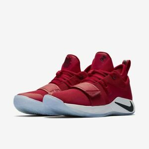 e3f255954aeb NEW Nike Paul George PG 2.5 Gym Red Fresno State Bulldogs BQ8452-600 ...