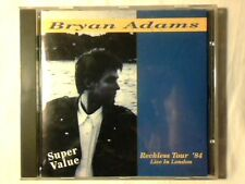 BRYAN ADAMS Reckless tour '84 - Live in London cd ITALY UNIQUE