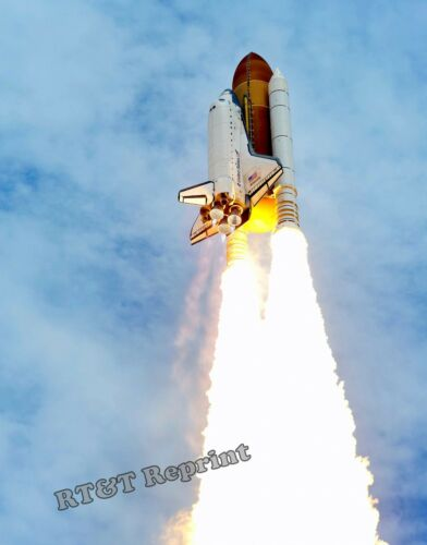 Photograph NASA Last Space Shuttle Atlantis Mission STS-135 Year 2011 11x14