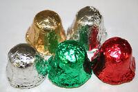 Milk Chocolate Christmas Bells Foiled, 5lbs