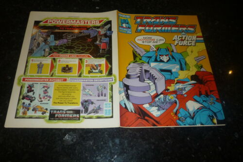 The TRANSFORMERS /& ACTION FORCE Marvel Comic 35p Date 25//03//1989 No 210