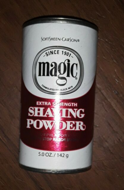Softsheen Carson Magic Extra Strength Shaving Powder 5oz Tiktok