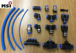 Steckanschluss Steckverschraubung T-Stück Y-Stück Winkel Druckluft wie IQS Luft