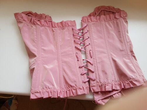 Bnwt Size Provocateur Agent Pink UK d C Medium 10 Corset Gwendoline Rara fpXPqwX1