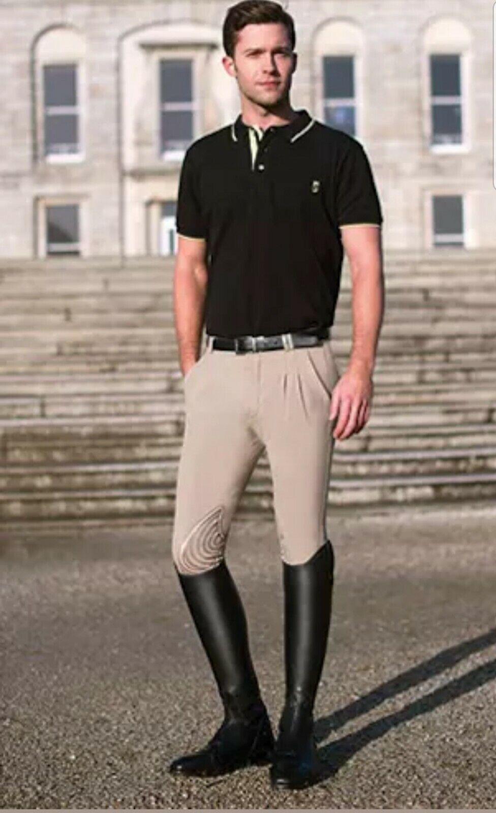 Trossostep SYMPHONY azzura 2 Pantaloni da uomo 30 Nuovo con etichette