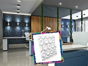 Luxury 3D Wall Ceiling Panel PILLOWS 60 x 60 Decorative Cladding Wallpaper Tile