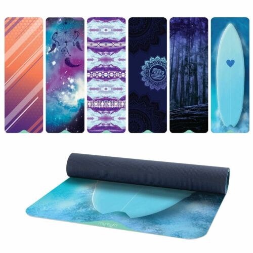 6 mm Thick Exercise Yoga Mats Non-slip Gym Fitness Pilates Physio Foam Camping