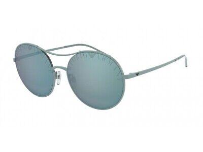 Acquista A Buon Mercato Occhiali Da Sole Autentici Emporio Armani Ea2081 32686j Blu Blu Specchiato Evidente Effetto