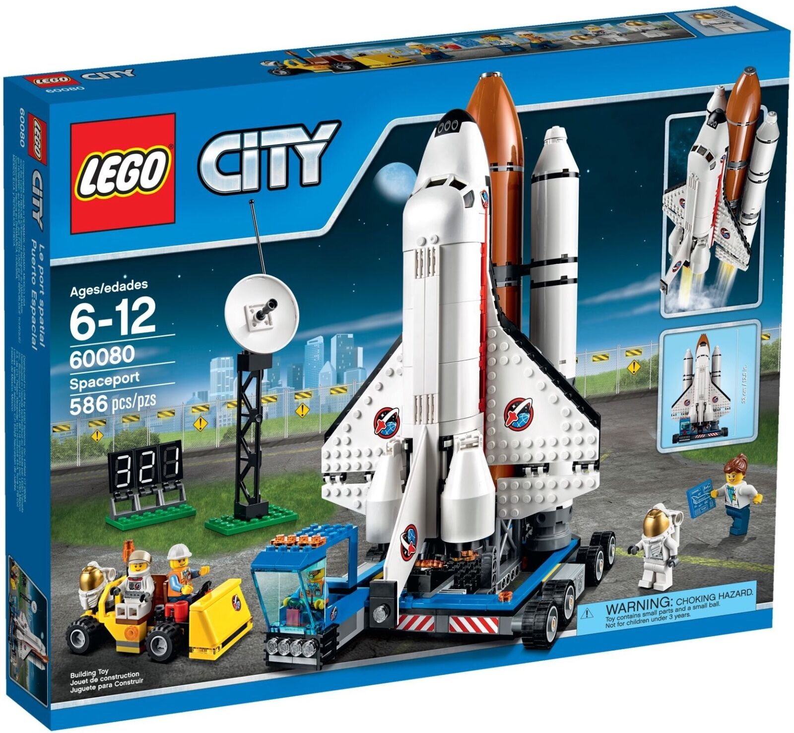 LEGO città  (60080) spazioporto (& Nuovo Di Zecca Sigillato in fabbrica)  marchi di moda