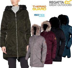 Regatta-Ladies-Lucetta-Insulated-Waterproof-Breathable-Womens-Long-Jacket-Coat