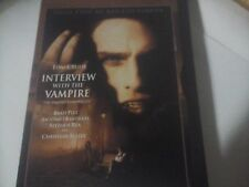 INTERVIEW WITH THE VAMPIRE (TOM CRUISE/BRAD PITT) DVD