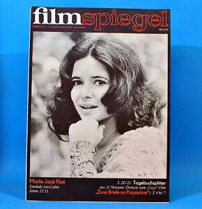 DDR-Filmspiegel-19-1970-Bagno-Durrenberg-Marie-Jose-Nat-Marina-Vlady-Gunther