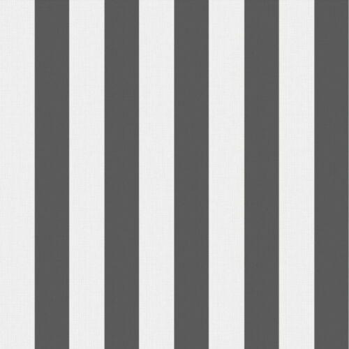 Kindertapete Gestreift Rasch Textil schwarz 3017-3