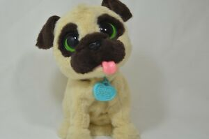 Details about FurReal Friends JJ My Jumpin' Pug Puppy Pet Dog Interactive  Toy Plush Robot