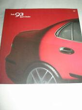 Saab 93 Sport Sedan range brochure 2004 USA market