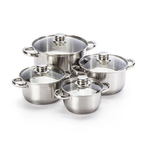 Lot de casserole casseroles Casseroles avec glasdeckeln 4 pces offre spéciale 16,18,20,24 cm