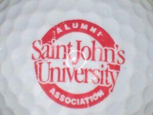 (1) Saint Johns University Alumni Association Ncaa Logo Balle De Golf-afficher Le Titre D'origine