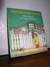 Who's Going to Take Care of Me? by Michelle Magorian (1990, HC,DJ,1'st Edition)