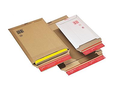 Cf. Da 20 Buste A Sacco In Cartoncino Adesive Chiusura Lato Corto Vari Formati