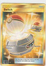 Pokemon SUN & MOON Trainer EX Full Art SWITCH 160/149 Item SECRET RARE Item >