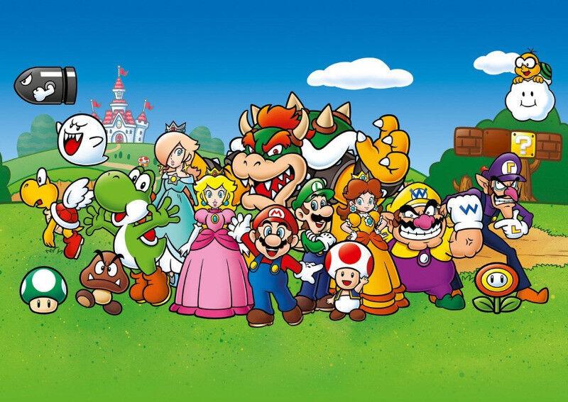 Super Mario Film-, TV- & Video-Action- & -Spielfiguren Mario and Friends 500 Piece Puzzle