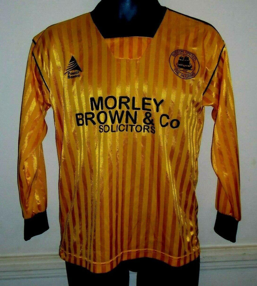 Boston unida Jugadores Camiseta De Fútbol 1990-1991 11 en la parte posterior pequeña para hombres  1384