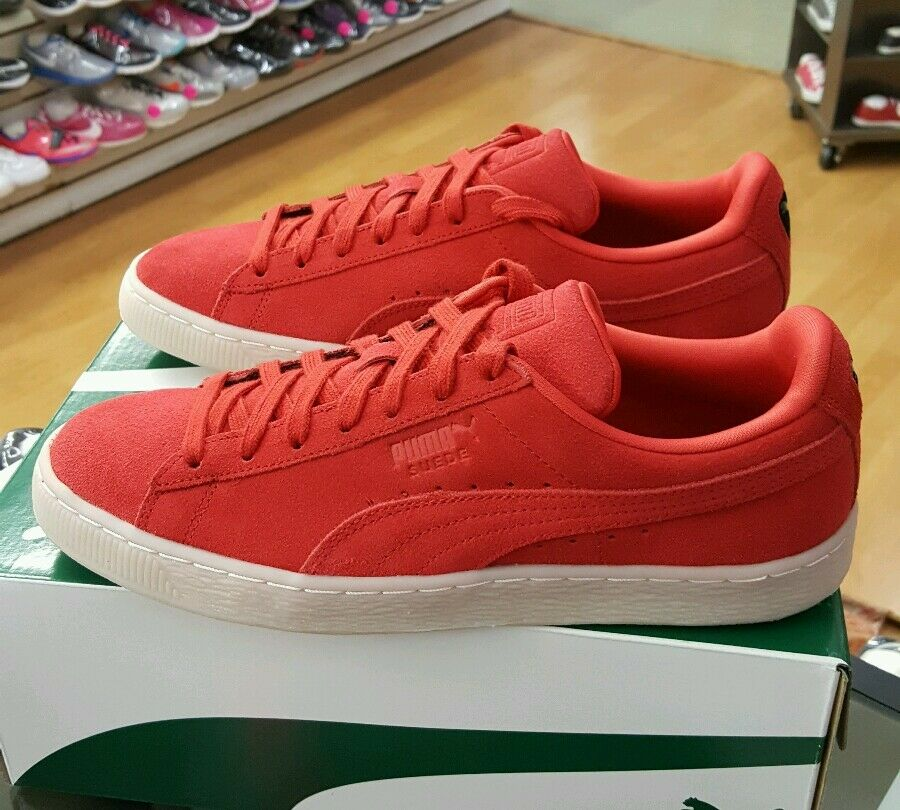 PUMA SUEDE CLASSIC COLORED 360850 02 HIGH RISK rouge homme US SZ 8