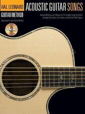 Hal Leonard Guitar Method: Acoustic Guitar Songs (Book And CD)