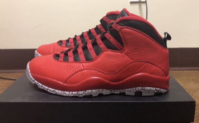 new style a3777 9251d Nike - Air Jordan Retro 10 30th - Bulls Over Broadway - 705178-601 - Men  Size 10