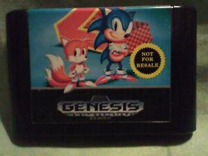 Sega Genesis Sonic The Hedgehog 2 Cartridge Only Ebay