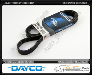 Dayco-Poly-Rib-Supercharger-Belt-for-HOLDEN-COMMODORE-VT-3-8L-V6-L67-6PK1755