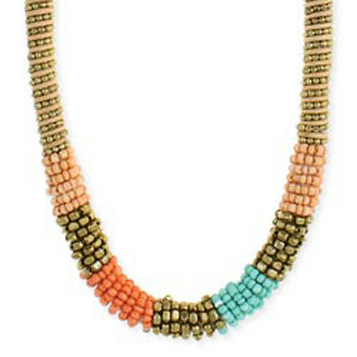 Designer Rolled Pea Beads Necklace Rare