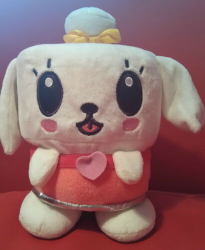 Canimals MIMI Talking Button in ear Soft Plush Toy 8 Inches Tall
