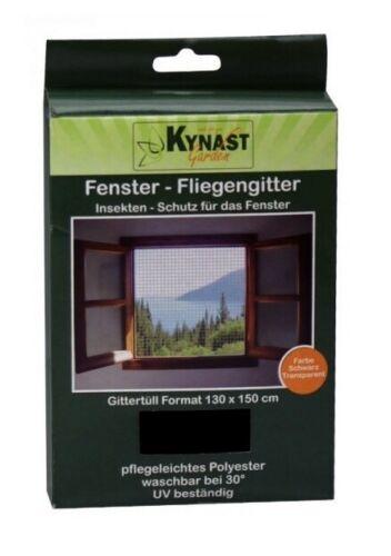 10x fenêtre-moustiquaire moustiquaire protection insectes 130x150cm incl velcro