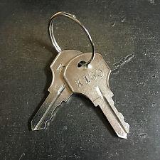 2 Kennedy Tool Box Replacement Keys Cut Key Code K101 K299 Read Disclaimer