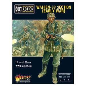 Warlord Games Bolt Action BNIB Early War Waffen-SS Squad WGB-SS-4022121<wbr/>01