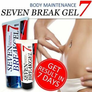Body Slimming Seven Break Gel Cream Anti-Cellulite Weight Loss Fat Burn AU F7