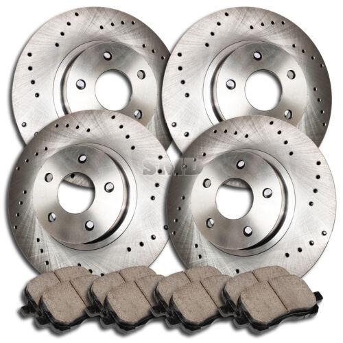 A0910 2000 2001 2002 2003 2004 2005 VW JETTA 1.9L 2.0L Brake Rotors Brake Pads