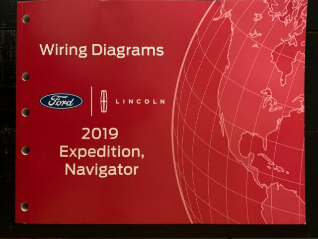 2019 Ford Expedition  Lincoln Navigator Factory Electrical Wiring Diagrams 88619