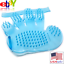 Resistant-Silicone-Rubber-Glove-Brush-Comb-Bath-Massage-Hair-Remover-Pet-Dog-Cat thumbnail 1