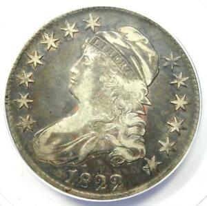 1822/1 Capped Bust Half Dollar 50C O-101 - Certified ANACS VF25 - Overdate Coin!