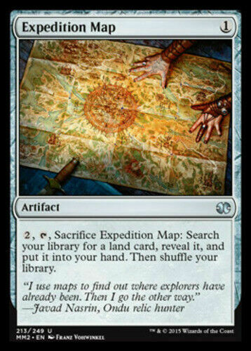 Modern Masters 2015 Uncommon x1 Mtg Expedition Map Magic the Gathering