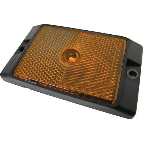 Anderson Trailer V215A LED Clearance//Side Marker Light w// Reflex Amber