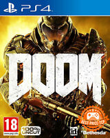 Doom D1 Inkl. Demon Multiplayer Pack At | Ps4 | Neuware | Ovp | 100% Uncut