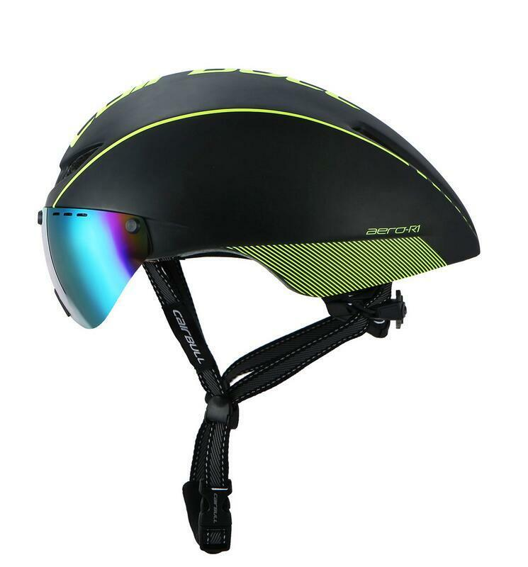 Unisex Adult Cycling Helmet Ultralight MTB Road  Bike Helmet with Len Goggles Set  100% authentic