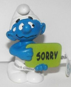 20749-Sorry-Smurf-2013-Smurfy-Greetings-2-inch-Plastic-Figurine-Made-by-Schleich