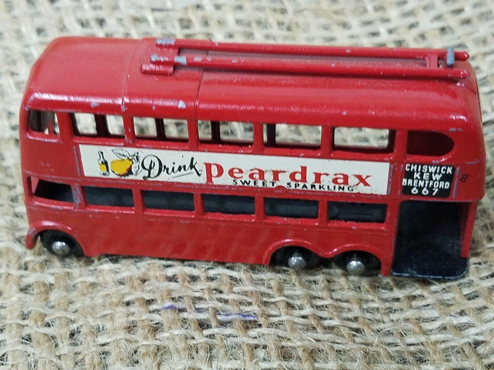 Vintage Lesney Matchbox  Peardrax London Trolley Bus -Excellent