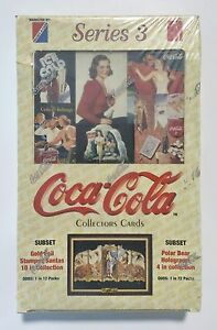 1994-Collect-A-Card-COCA-COLA-series-3-card-box-from-a-sealed-case